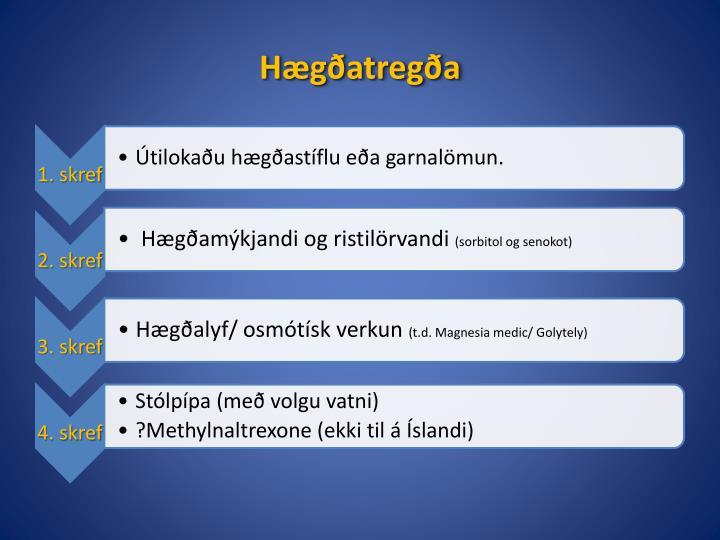 Hægðatregða