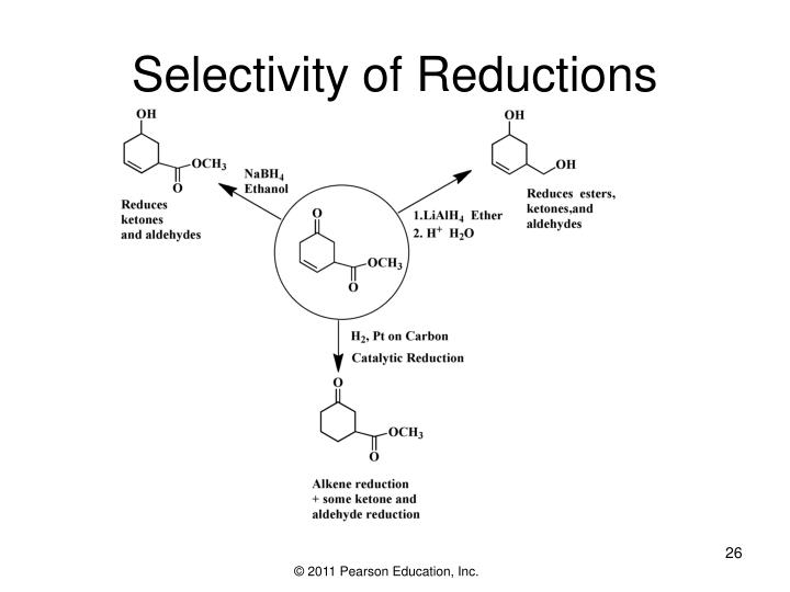 Selectivity of Reductions