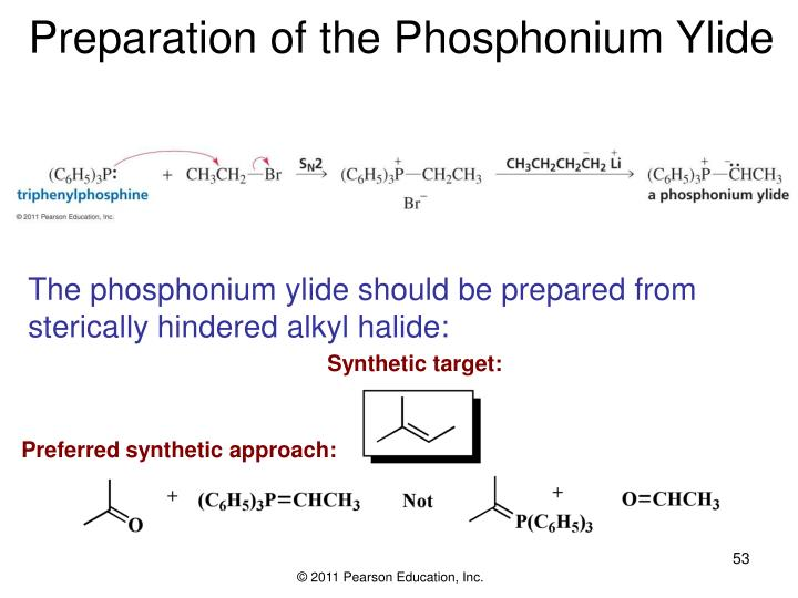 Preparation of the Phosphonium Ylide