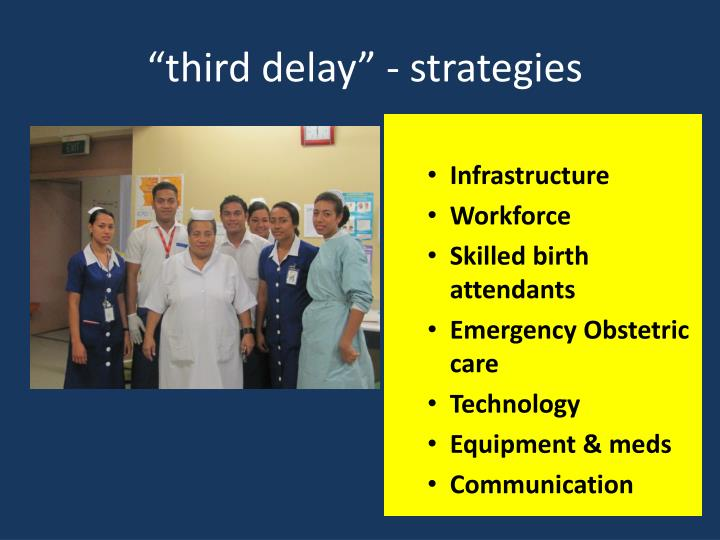 """third delay"" - strategies"
