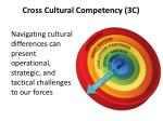 cross cultural competency 3c6