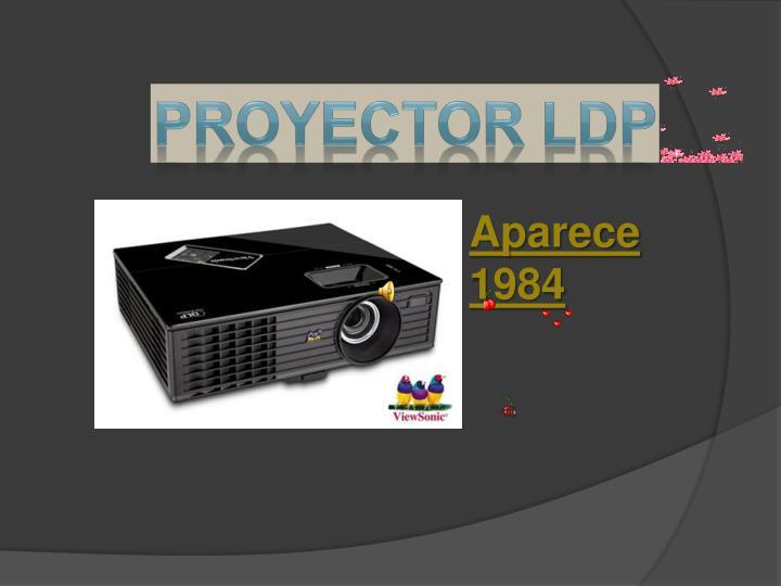 Proyector LdP