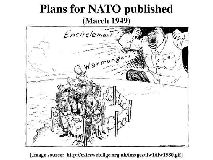Plans for NATO published