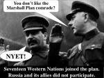 seventeen western nations joined the plan russia and its allies did not participate
