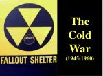 the cold war 1945 1960