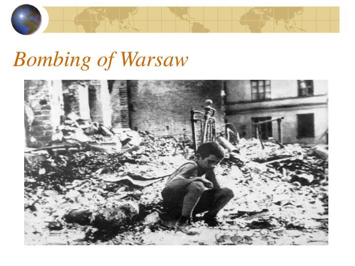 Bombing of Warsaw