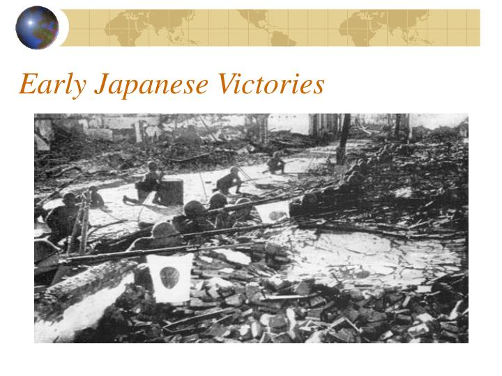 Early Japanese Victories