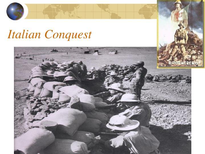 Italian Conquest