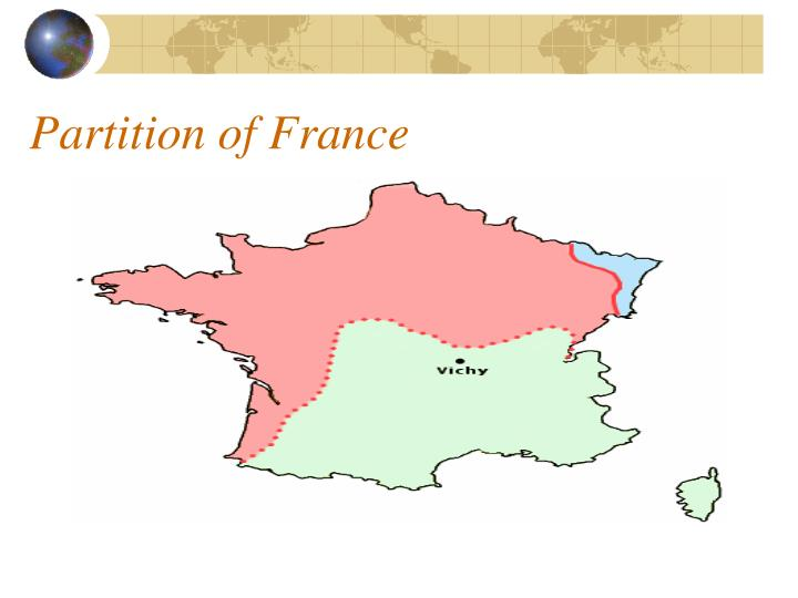Partition of France