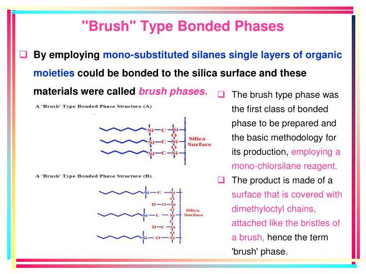 """Brush"" Type Bonded Phases"