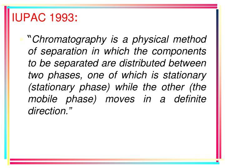 IUPAC 1993