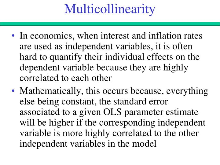 Multicollinearity