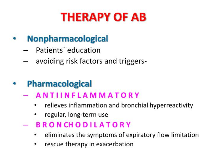 THERAPY OF AB
