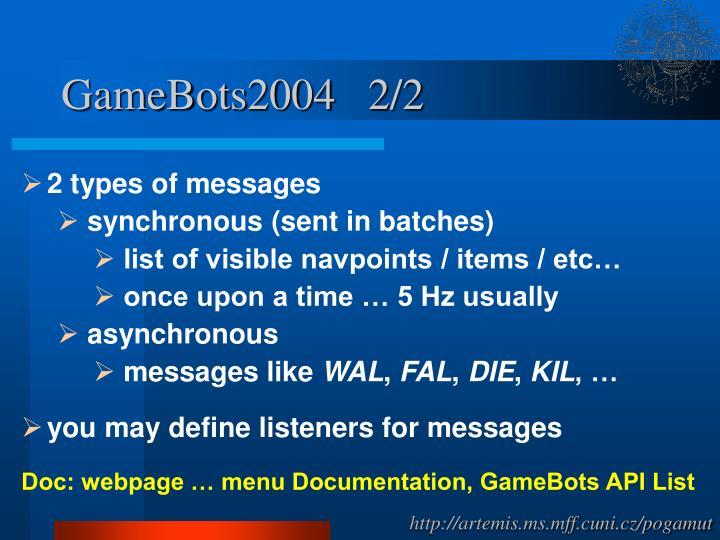 GameBots2004   2/2