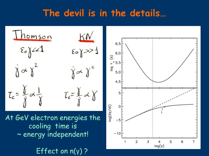 The devil is in the details…