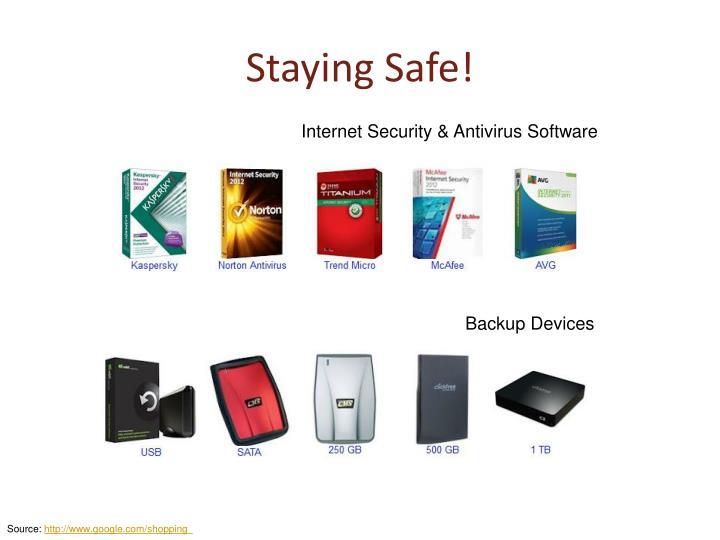 Staying Safe!