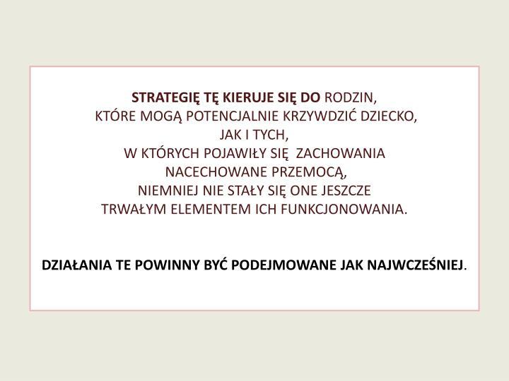 Strategię