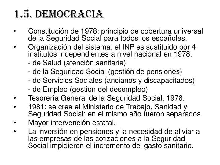 1.5. democracia
