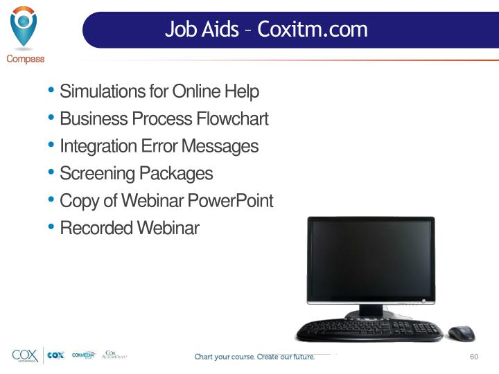 Job Aids – Coxitm.com
