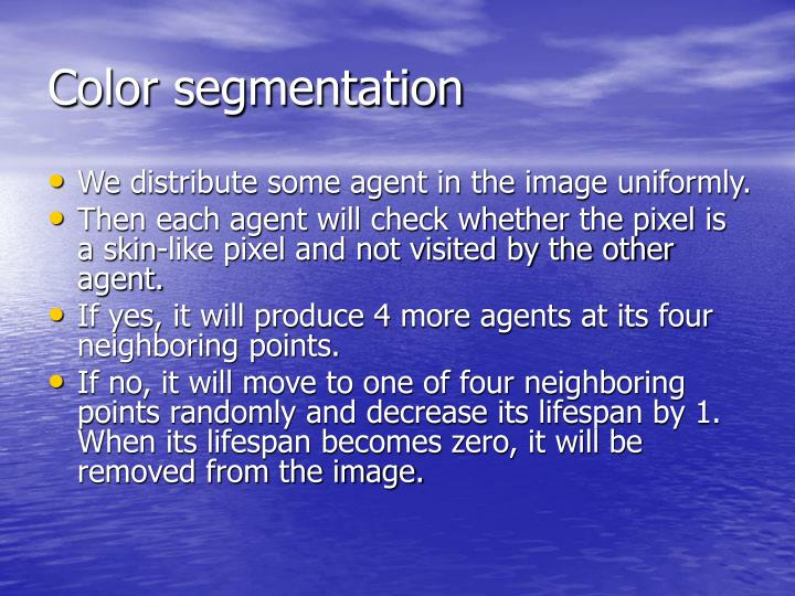 Color segmentation