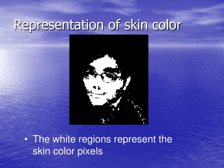 Representation of skin color