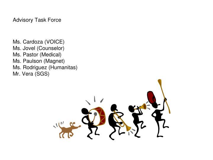 Advisory Task Force