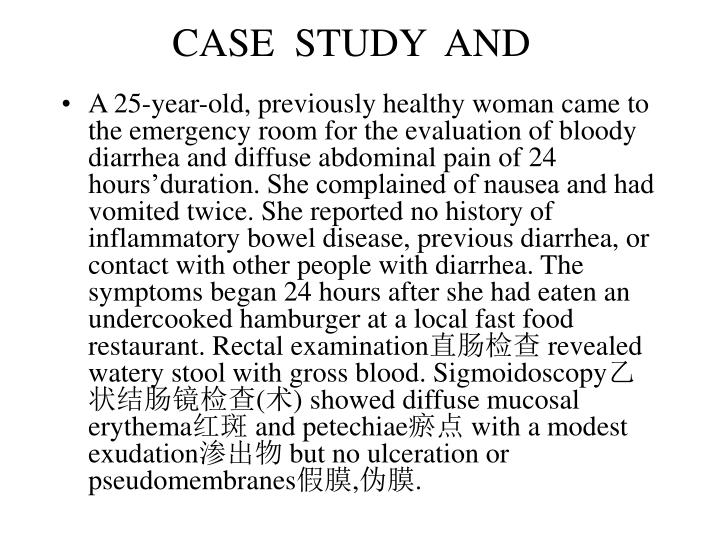 CASE  STUDY  AND