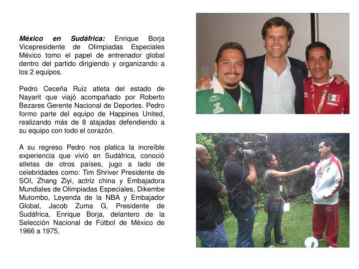 México en Sudáfrica: