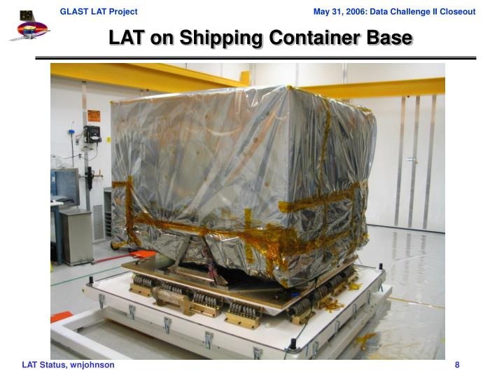 LAT on Shipping Container Base