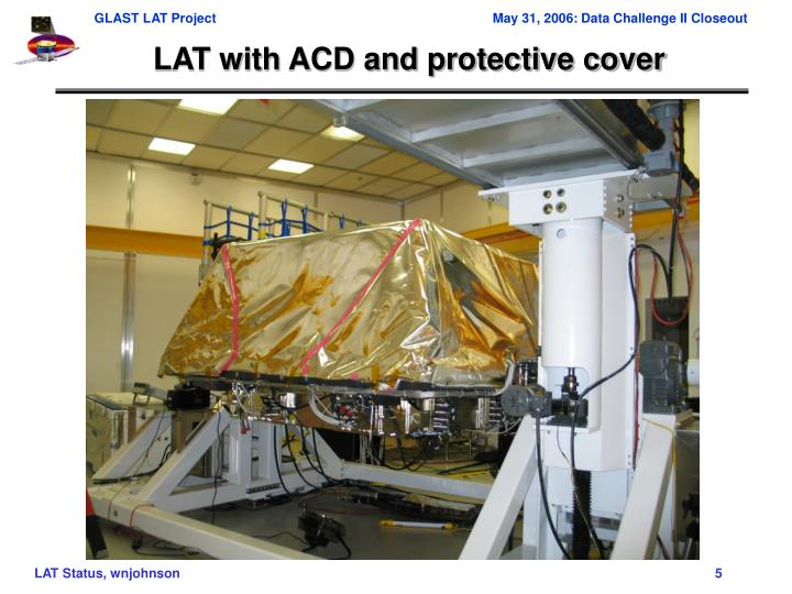 LAT with ACD and protective cover