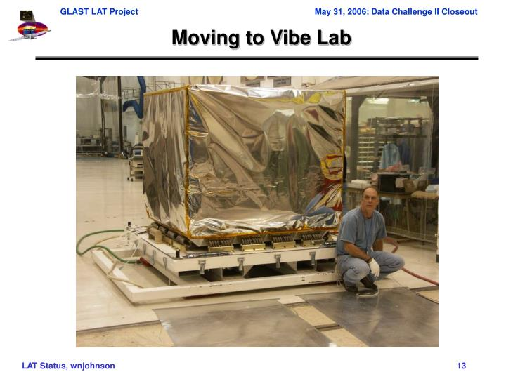 Moving to Vibe Lab