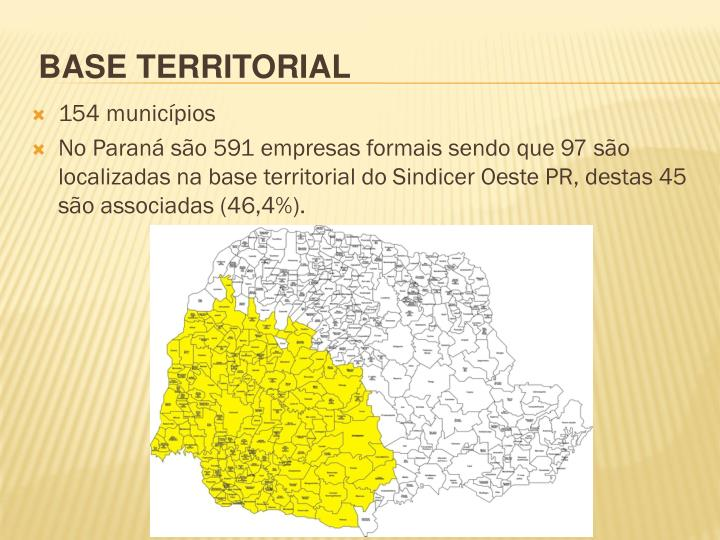 154 municípios
