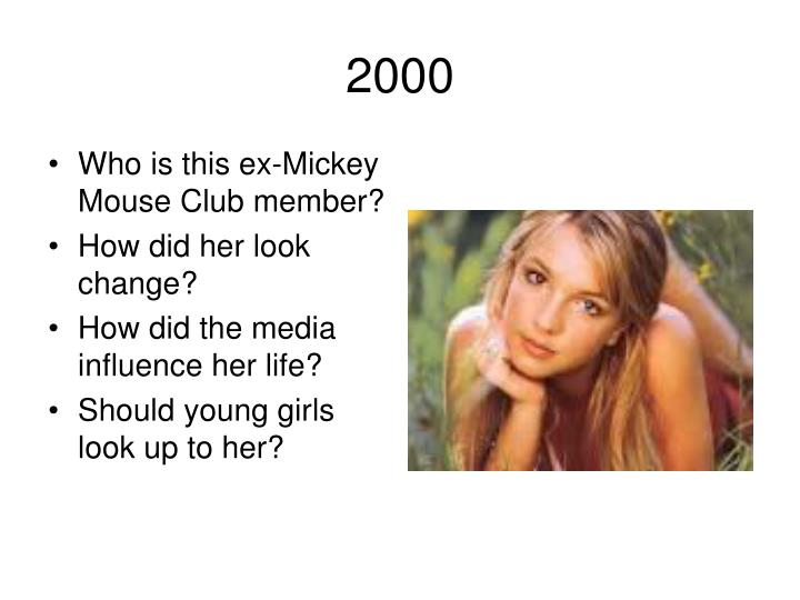 Who is this ex-Mickey Mouse Club member?