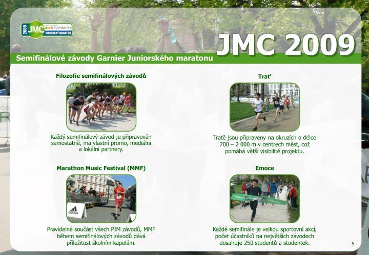 Semifinálové závody Garnier Juniorského maratonu