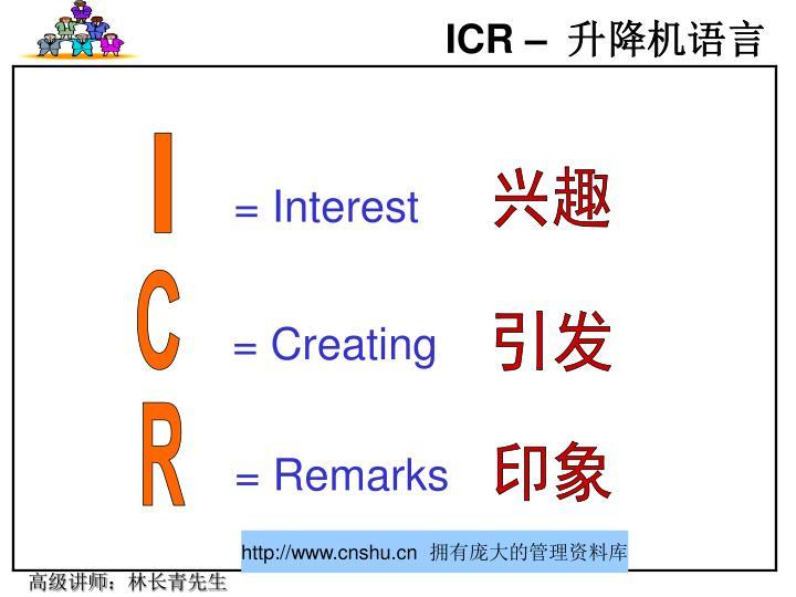 ICR –