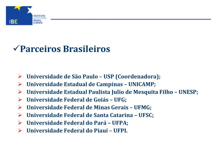 Parceiros Brasileiros