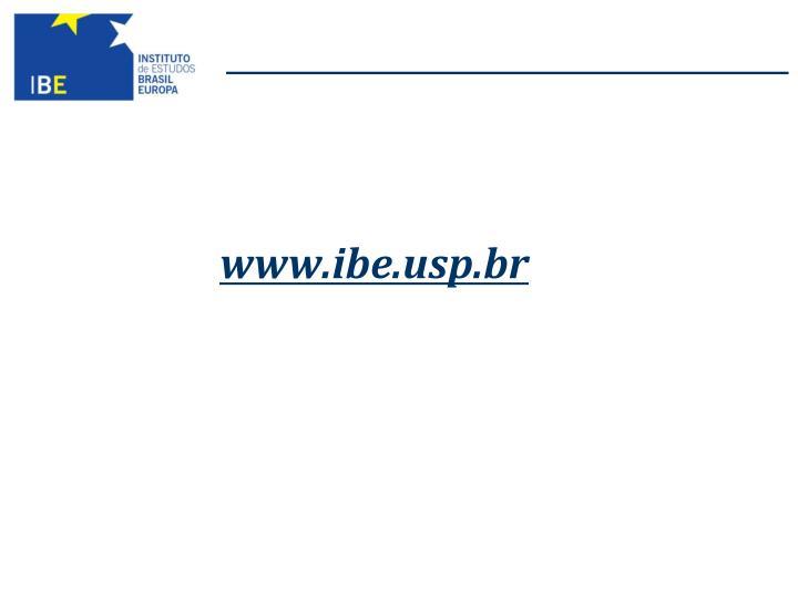www.ibe.usp.br
