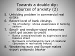towards a double dip sources of anxiety 2