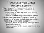 towards a new global reserve system