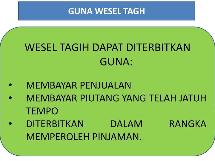 GUNA WESEL TAGH