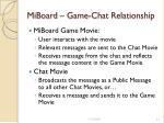 miboard game chat relationship