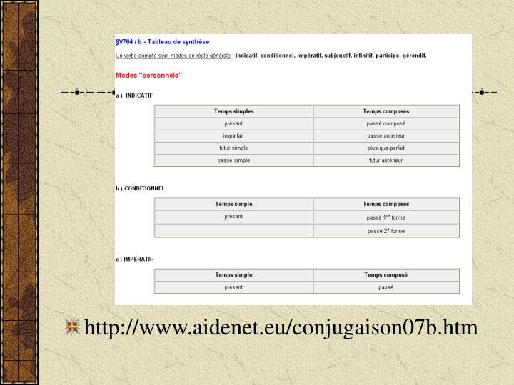 http://www.aidenet.eu/conjugaison07b.htm