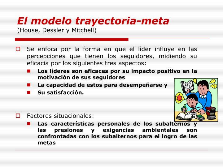 El modelo trayectoria-meta