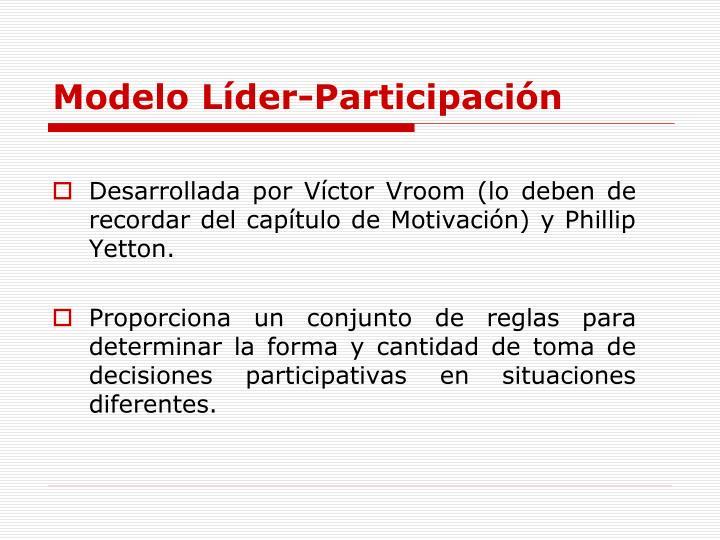 Modelo Líder-Participación
