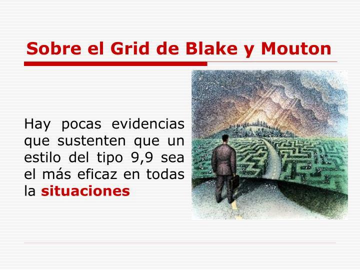 Sobre el Grid de Blake y Mouton