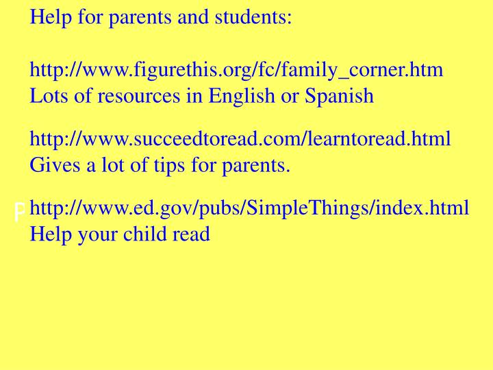 Parents, the most important thing you can do to h