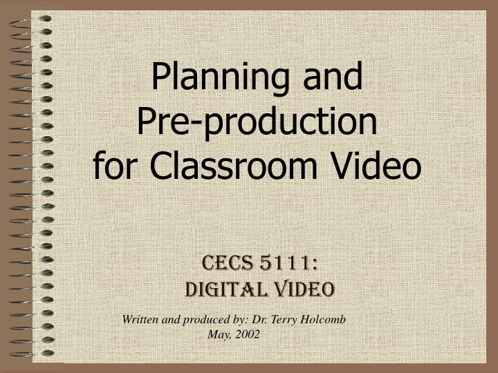 Cecs 5111 digital video