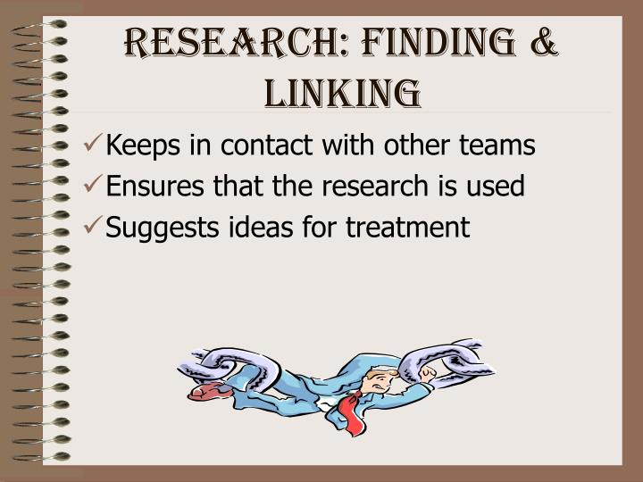 Research: Finding & Linking