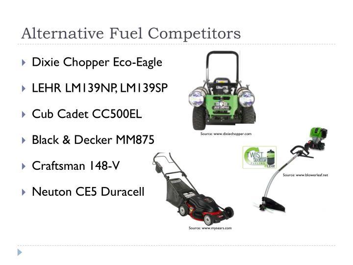 Alternative Fuel Competitors