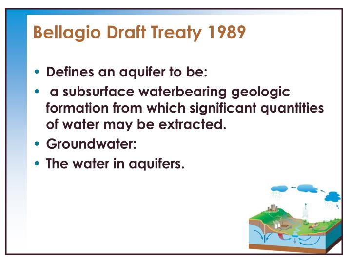 Bellagio Draft Treaty 1989